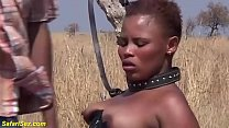 brutal african fetish fuck lesson at the savannah pornhub video