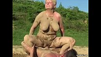 anushka photos without dress: Grannies get fucked in the mud thumbnail