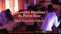 Part 01 Spy cam french private party! Camera espion plumes poils paillettes - download porn videos