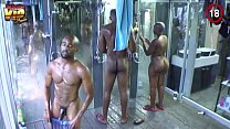 Big Brother Africa Hotshots Shower Hour (Day 25) -  Sheillah and Nhlanhla video