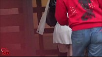 Jap Girl Ambushed And Humiliated In Public Toilet