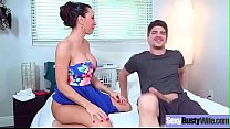 Sex Tape With Busty Naughty Housewife (Lezley Z...