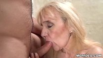 10673 Mature woman's old pussy filled with young dick preview