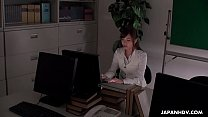 Office worker getting some juice up as her work gets boring pornhub video