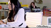 Sex Tape In Office With Nasty Wild Worker Girl video-06