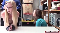 Teen babe caught stealing gets fucked's Thumb