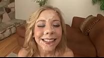 Teen Blonde Bukkake