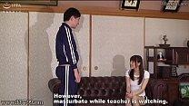 Japanese Cfnm Home Tutor And Naughty Student Masturbation