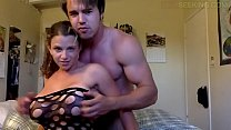 Big tits College girl gets fucked with tattooed guy in Family vacation