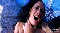 Dark haired whore sodomized n jizzed by a frenc...