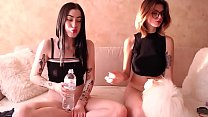 Naughty sisters one is a squirter