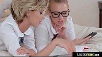 Hot Sex Scene With Teen Lesbian Girls (Haley Reed & Bailey Brooke) video-12
