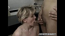 Amateur Milf anal threesome with cumshots thumbnail