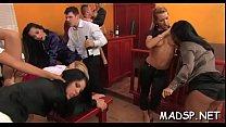 Group of lesbian babes seeking fun having a lustful orgy pornhub video
