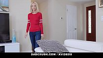 DadCrush - Skinny Blonde Stepdaughter Drains My...