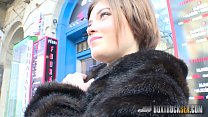 Hot Veronica Morre fucks in a public place