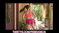 Treat of the year Taylor Vixen shows off her bi...