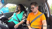 Fat ebony babe bangs her driving instructor [Sensi Pearl Bdsm] thumbnail