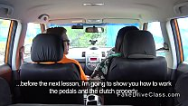 11852 Fat ebony babe bangs her driving instructor preview