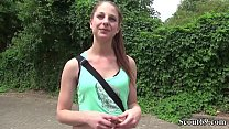 German Scout - Pia (18) bei Street Casting Anal gefickt video