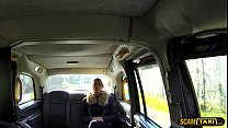 Damn sexy Dutch lady tries anal sex in taxi to get a free ride thumbnail