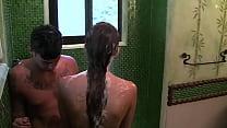 facial whores - Ádám has fun in the shower thumbnail
