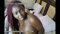 cute horny Africa nigeria Mrs with big boobs fu...