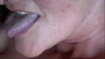 Amateur Granny closeup Blowjob صورة