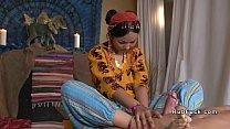 Thai masseuse bangs her client ภาพขนาดย่อ