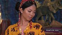 Thai masseuse bangs her client thumbnail