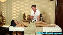Smalltits latina deepthroats masseurs cock