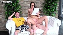 Two horny newcomers fail with pornstar Wendy Moon thumb