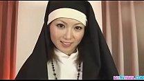 Joven pecador se confiesa en el culo de la monja
