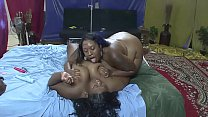 Two Huge Senegalese Girls Tease Their Cunt With