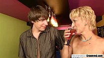 Bartender fucks a MILF pussy preview image