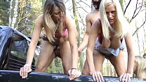 Perverse Outdoor Fuck Party Part 2