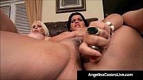 Cuban BBW Angelina Castro & Bedelli Buttland Bang Wet Cunts! thumbnail