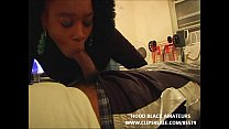 black hooker comes by to get a hugh mouth full of cum ⁃ sex hot thumbnail