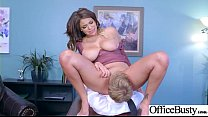 Hard Sex Tape In Office With Big Tits Slut Horrny Girl (Cassidy Banks) vid-26 thumbnail