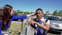 BANGBROS - Young Black Student Lil D Gets Anatomy Lesson From Aidra Fox's Thumb