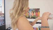 Asstastic oiled blonde does hot anal Preview