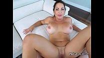 Hot Maid Julianna Vega Spreads Her Legs Wide For Boss's Thumb