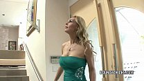 Mature slut Tanya Tate fucks and takes the cum on her tits