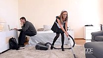 Anal Housemaid Takes Gigantic Cock In Ass And M... Thumbnail
