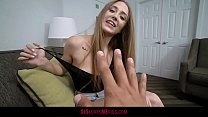 Tiny Teen Takes A Big Black Dick From Her Stepbro porn image