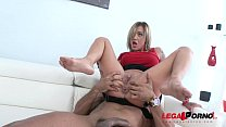 Chantelle Fox first time in studio for 3on1 Airtight DP SZ1402 preview image