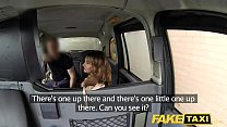 Fake Taxi creampie for rimming tanned babe with tiny pink pussy صورة
