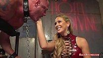 Cherie Deville Pegging Submissive Dude video