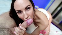10244 Lilu Moon Sloppy Blowjob and Cumshot in Mouth preview
