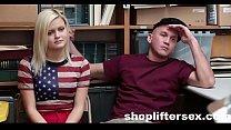 Watching My GF Fuck The SecurityGuard |shoplift...